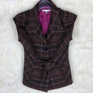 CAbi tweed vest